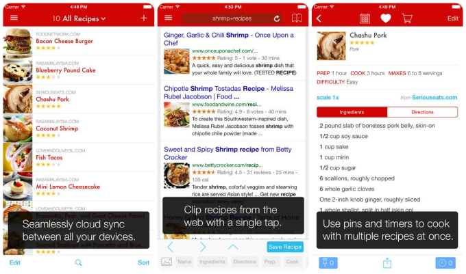 Smartphone Sous Chef: The 10 Best Cooking Apps :: Tech