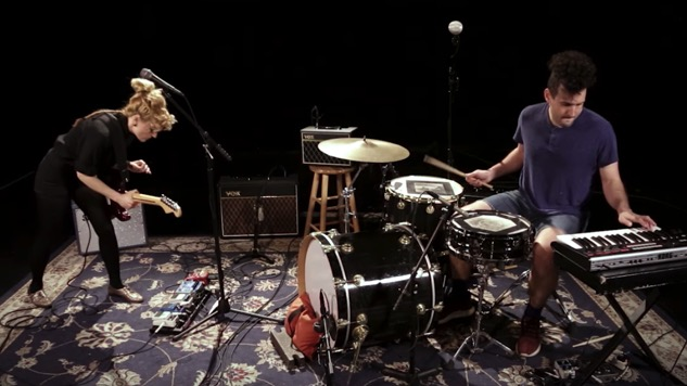 Watch Parlor Walls Deliver Three Dark and Hypnotic Tracks to the Paste Studio
