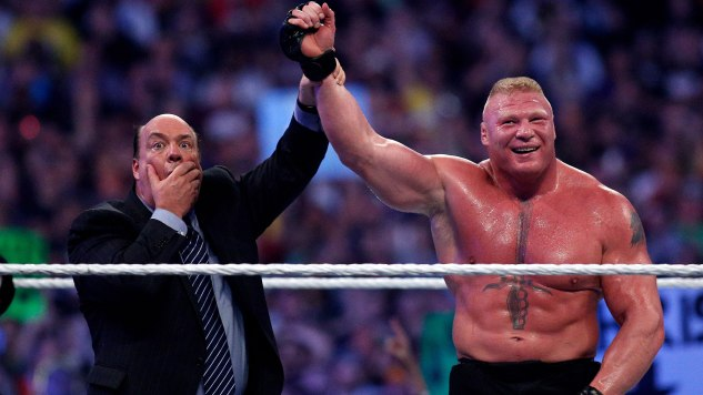 A Phone Call with Paul Heyman: On WrestleMania, His One-Man Show, and Brock Lesnar's Future