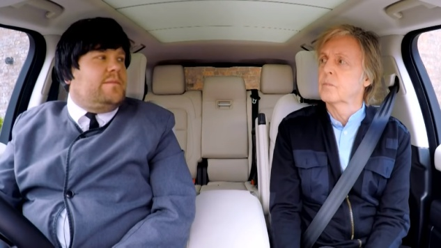 "Paul McCartney's ""Carpool Karaoke"" Segment to be Extended into Hourlong Special"