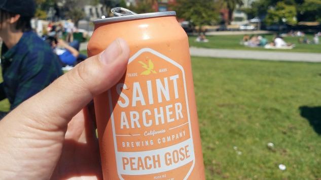 Saint Archer Peach Gose Review