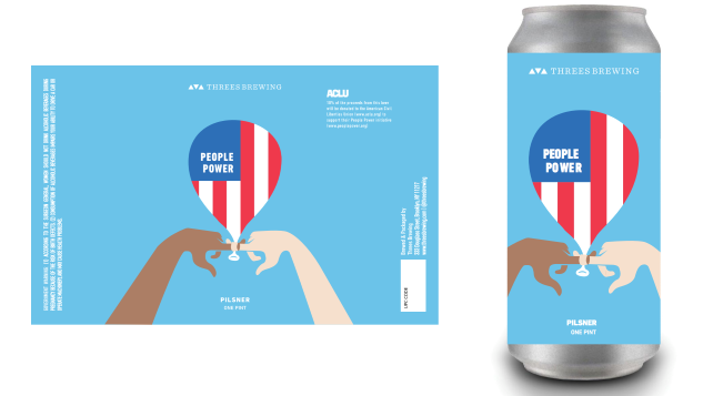"Craft Breweries Are Teaming Up to Raise Funds for the ACLU With ""People Power"" Beers"