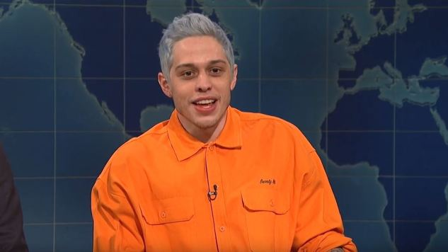 Pete Davidson Talks About Ariana Grande (and, Uh, Mostly Politics) on <i>SNL</i>