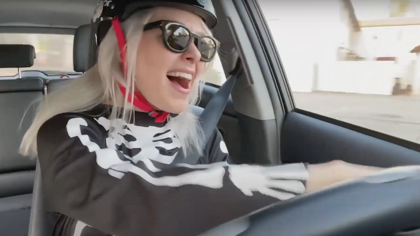 Watch Phoebe Bridgers Go for a Joyride While Performing on <i>James Corden</i>