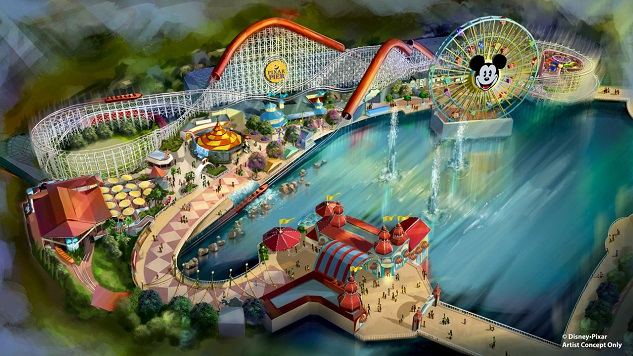 An Incredibles Roller Coaster and More Are Coming to Pixar Pier at Disney's California Adventure