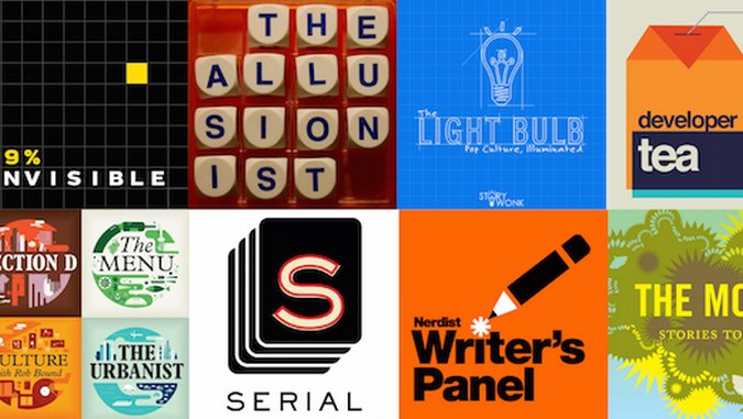 A Mildly Biased List of the Best Podcast Logos