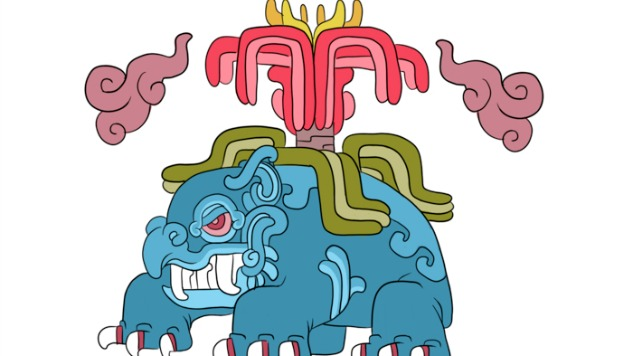 Artist Monarobot Creates Gorgeous Mayan-Influenced Pokémon Designs