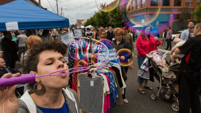 Portland Gets Even Weirder in the Alberta Arts District