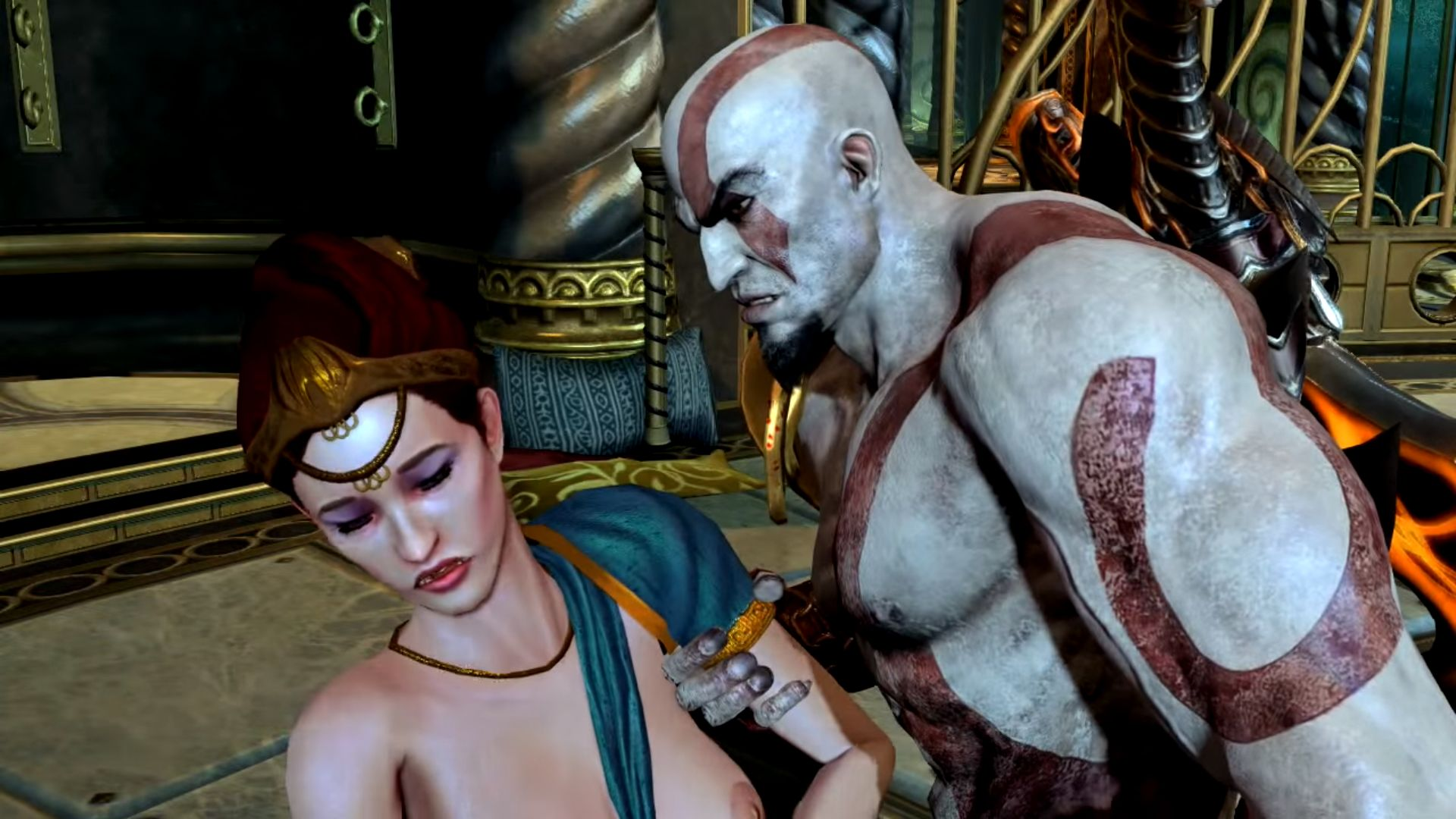 god of war naked picture girl