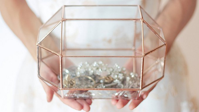 Pretty Glass Boxes for Terarriums, Storage and More