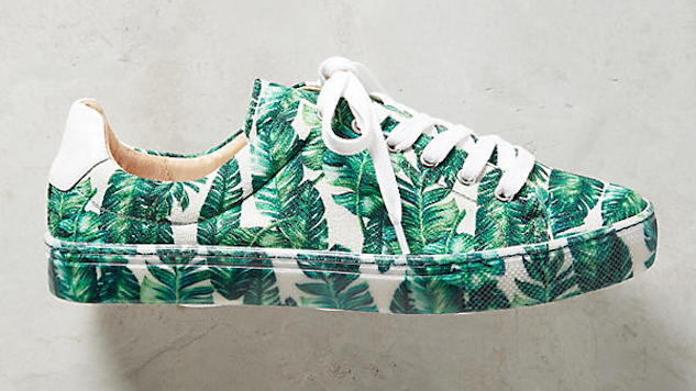 Printed Sneakers for When You Just Can't with Sandals