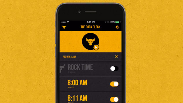The Rock Clock App Review (iOS): Do You Smell What The Clock is Cooking?