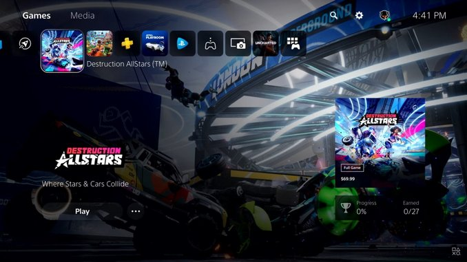 New Video Gives First Look at PlayStation 5 User Experience