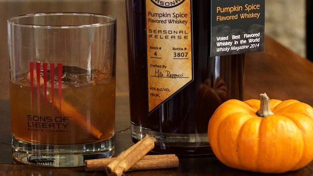Pumpkin Spice Takes Over Your Booze