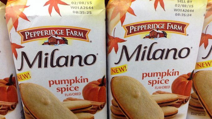 The Official Pumpkin Spice Grocery List
