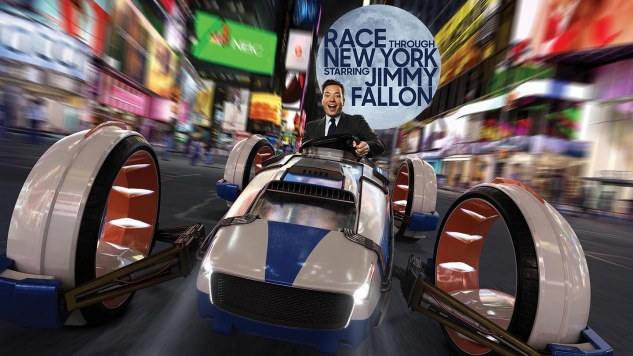 Universal's Newest Ride: Race Through New York Starring Jimmy Fallon