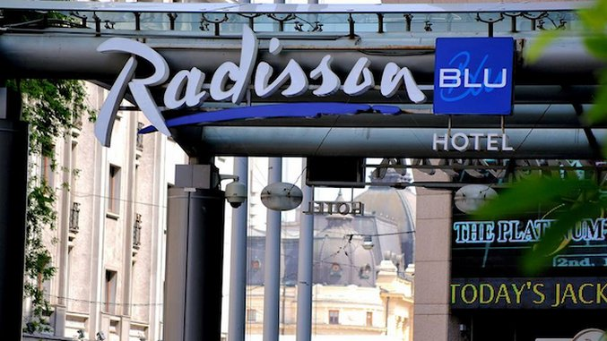 Hotel Intel: Radisson Blu Bucharest, Romania