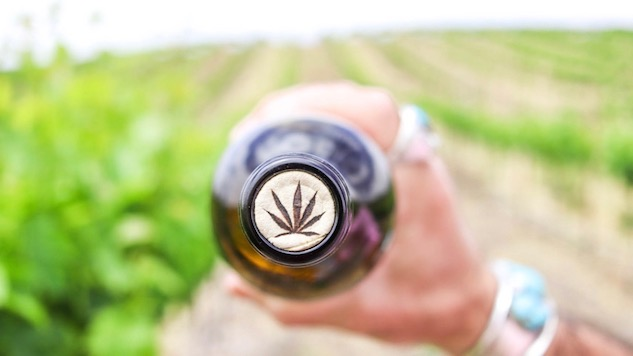 We Finally Try Weed-Infused Wine