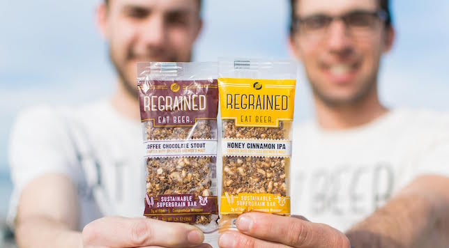 These Food Bars Keep Spent Brewer's Malt Out of the Landfill