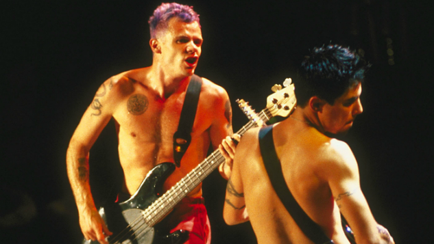 Listen to The Red Hot Chili Peppers Try to Upstage Jane's Addiction in 1989