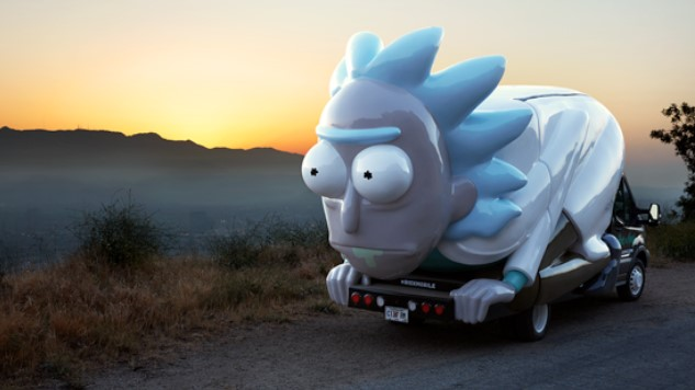 Don't Even Trip Dog, The <i>Rick and Morty</i> Mobile Pop-Up Shop is Coming to a City Near You or Whatever
