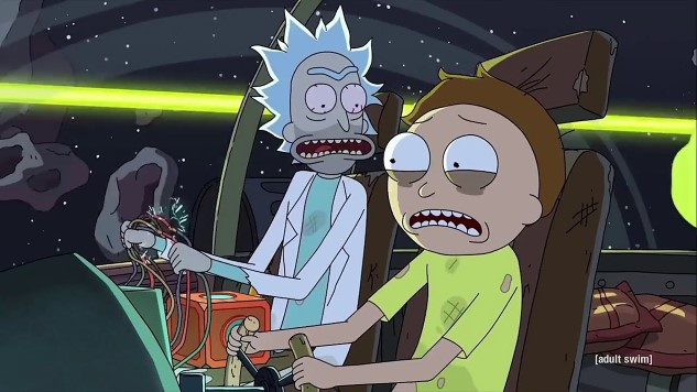 <i>Rick and Morty</i> Recorded a Birthday Song for Kanye West