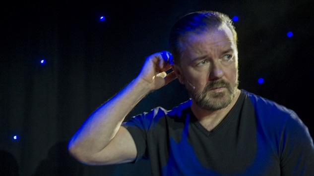 Ricky Gervais Explores How Thin-Skinned One Comedian Can Be in His Embarrassing New Special