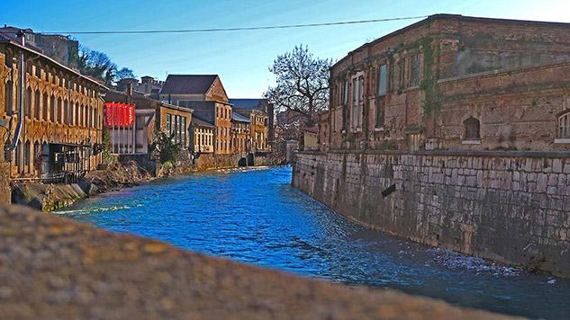 river rjecina in industrial quarters.jpg