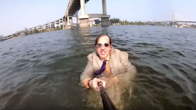 Conner O'Malley Hosts the Only Talk Show in the River