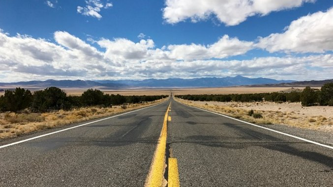 Off The Grid: America's Loneliest Road