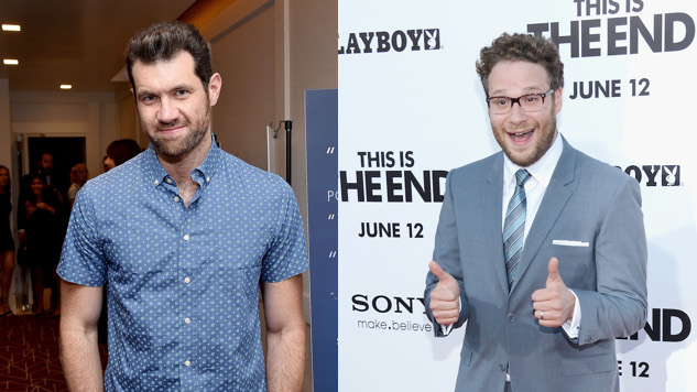 Seth Rogen and Billy Eichner to Play Pumbaa and Timon in <i>Lion King</i>