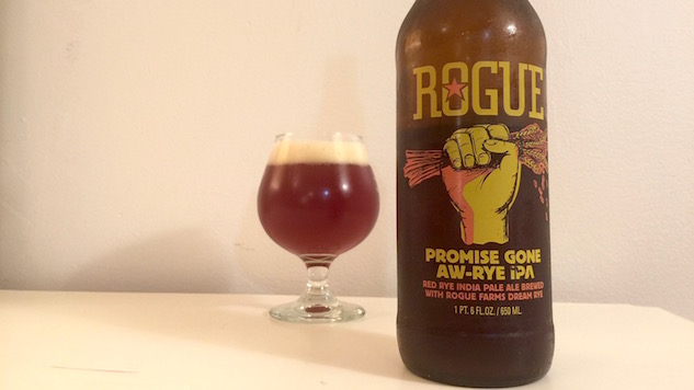 Rogue Promise Gone Aw-Rye Review