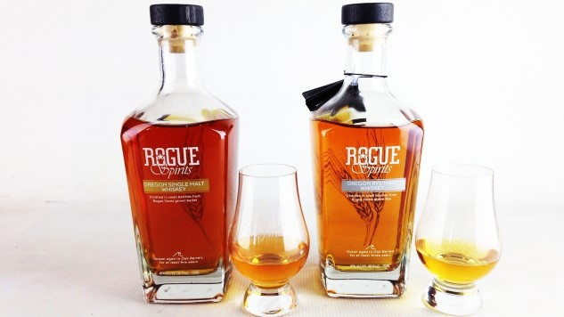 Rogue Spirits: Tasting Oregon Single Malt and Rye Whiskeys