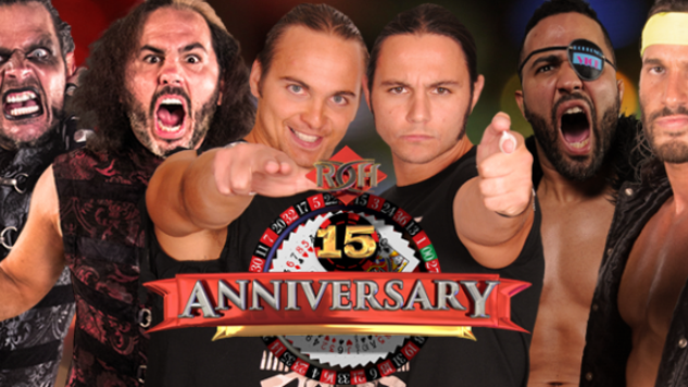 Matt and Jeff Hardy Win Ring of Honor Tag Titles, Will Defend at 15th Anniversary PPV