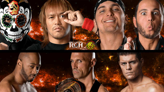 Ring of Honor Hosts the Stars of New Japan at Tonight's War of the Worlds PPV