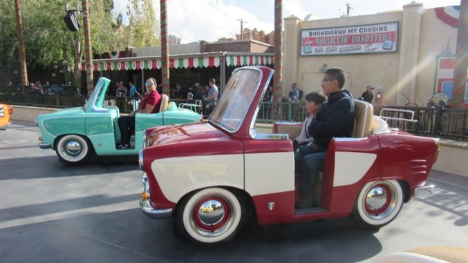Disney's Newest Ride: Luigi's Rollickin' Roadsters