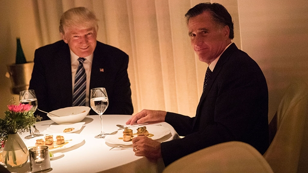 Here Are Two Tweets From Mitt Romney, and One From Donald Trump