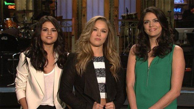 "<i>SNL</i> Review: ""Ronda Rousey / Selena Gomez"""
