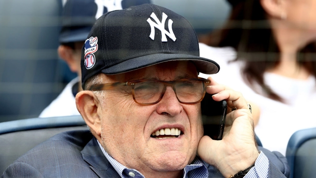 Crap, the Yankees Did Something We Don't Hate: Rudy Giuliani Booed on His Birthday