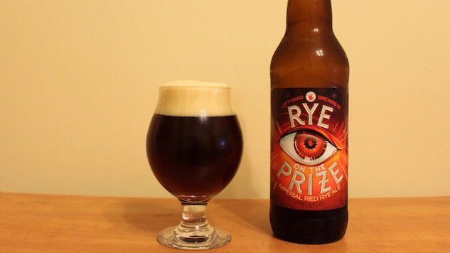 Left Hand Brewing Rye on the Prize Review
