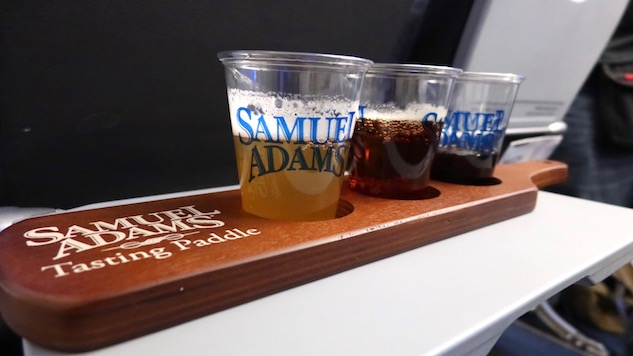 Aboard the Ultimate Beer Flight