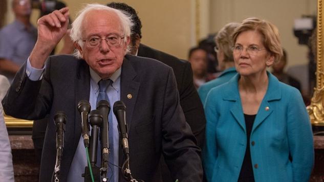 Bernie Sanders Helped Organized Labor Shame Jeff Bezos Into Raising Amazon's Minimum Wage