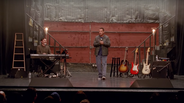 Adam Sandler Goes Back to Basics in First Trailer for His Netflix Stand-up Special <i>100% Fresh</i>