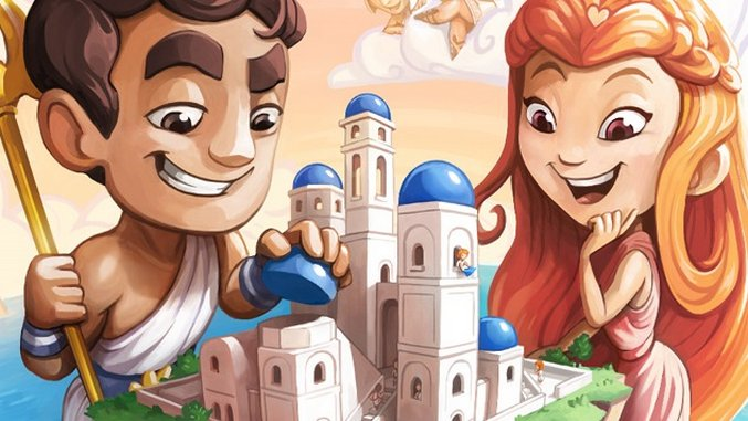 Santorini Is a Perfect Game For Two :: Games :: Reviews :: Boardgames :: Paste image