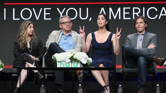 Sarah Silverman's New Hulu Show Looks So Dumb
