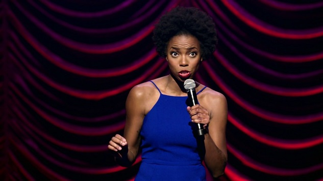 Sasheer Zamata's First Stand-up Special Thrives on Carefully Calculated Hostility
