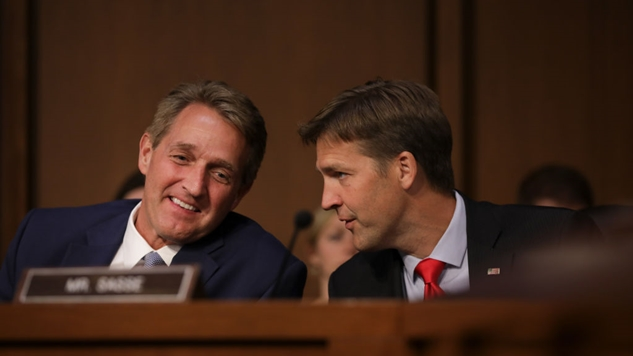 Jeff Flake, Ben Sasse, Susan Collins, and the Myth of the Moderate Republican