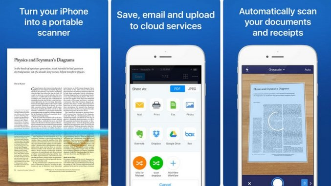 10 iOS Apps That Make Scanning Files Easy