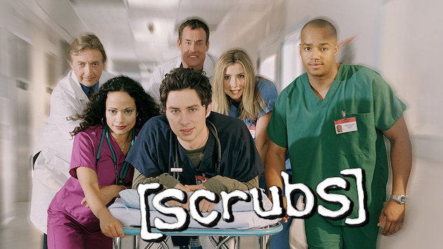 Surprise: Comedy Central Is Marathoning <i>Scrubs</i> All Day Today