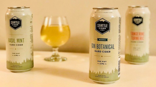 Drinking 3 Ciders from Seattle Cider Company